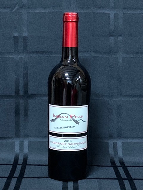 2016 Manton Valley Estate Bottled Cabernet Sauvignon