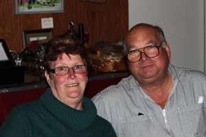 Fred and Donna Boots, owners of the Indian Peak Vineyards Winery in the Manton Valley AVA, Manton, CA 96059.