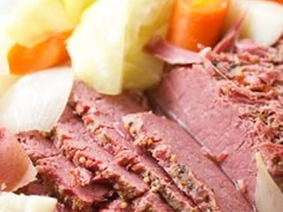 Corned Beef and Cabbage – Mar 13th
